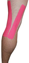 Back of Knee Taping