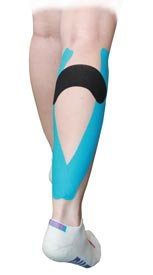 Calf Muscle Taping