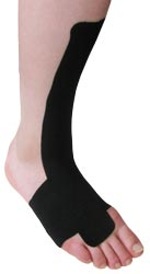 Ankle Extensor Tendonitis Taping