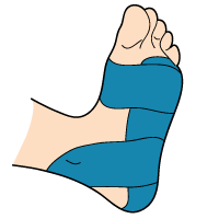 Taped Foot